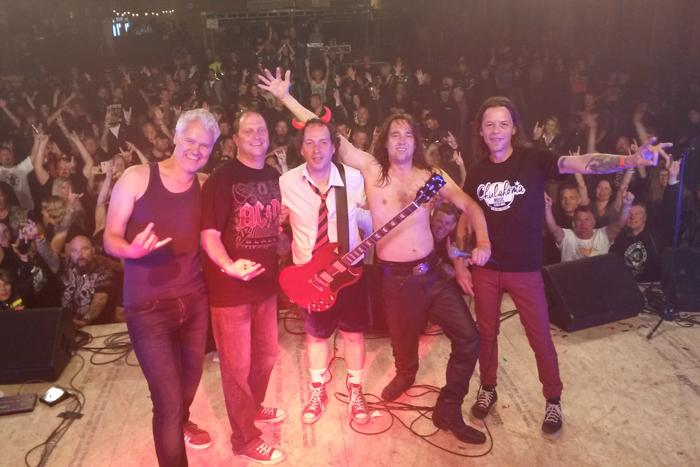 Bon Scotch, Noorwegen, Sandness, sandnes rally, Norge, AC/DC tribute