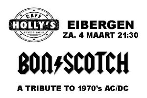 holly's, eibergen, bonscotch, tribute to AC/DC