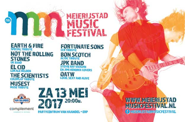 flyer, meijerijstad, music festival, erp, bon scotch