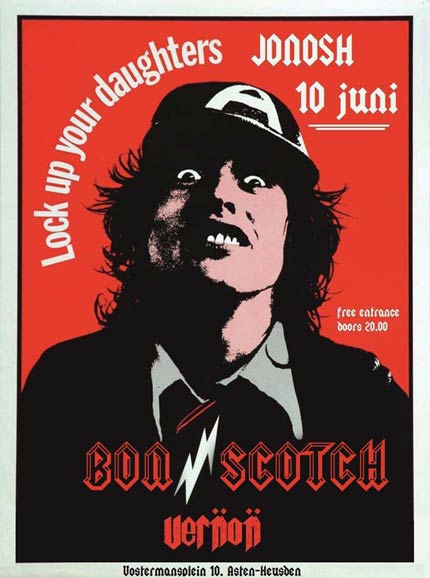 flyer, jonosh, asten, heusden, bon scotch, ac/dc tribute, angus