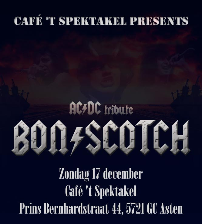 flyer, spektakel, asten, bon scotch, ac/dc tribute, acdc