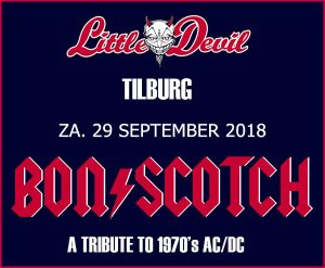 flyer, little devil, tilburg, bon scotch, ac/dc, tribute