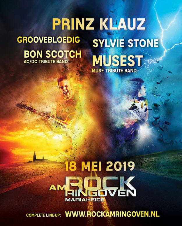 flyer, rock am ringoven, 2019, mariaheide, 18 mei, bon scotch, ac/dc tribute band