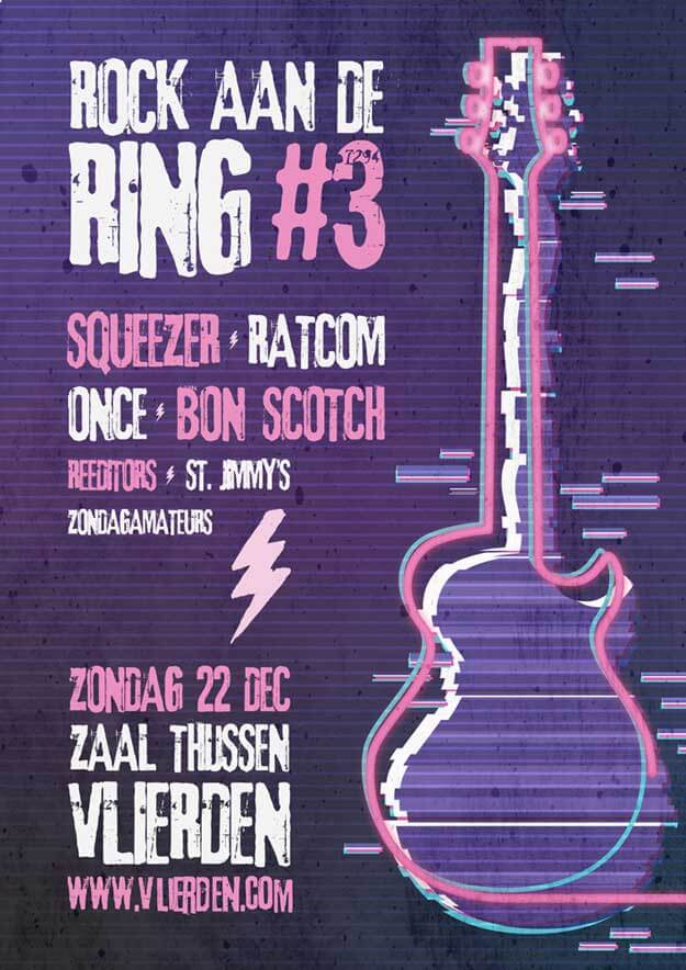 rock aan de ring, vlierden, 2019, festival, 22 december, zaal thijssen, bon scotch, ac/dc tribute band