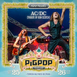 pigpop, festival, beltrum, 2019, 25 mei, bon scotch, ac/dc tribute