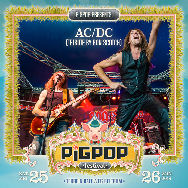 pigpop, festival, beltrum, 2019, 25 mei, bon scotch, ac/dc tribute