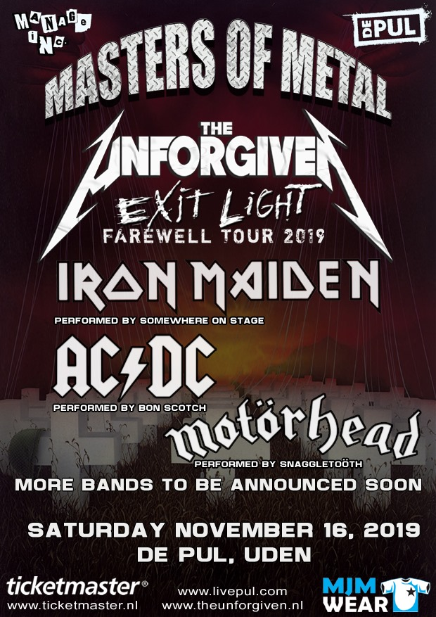 masters of metal, uden, de pul, 2019, bon scotch, ac/dc, the unforgiven, metallica, tribute