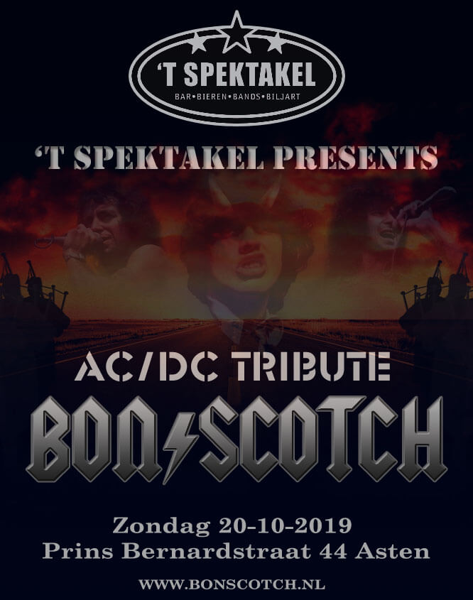 flyer, bon scotch, spektakel asten, acdc tribute, 20-10-2019