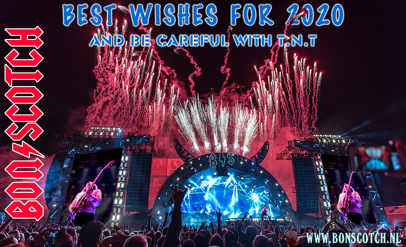 best wishes ,bon scotch, ac/dc tribute, acdc, ac dc coverband, feestdagen, 2020
