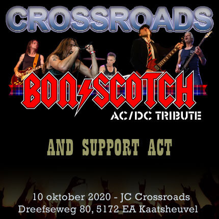 jc, crossroads, kaatsheuvel, bon scotch, ac/dc tribute, 10 oktober 2020