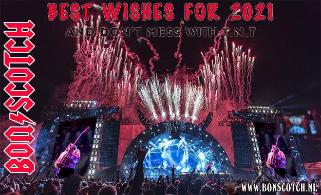 best wishes, bon scotch, ac/dc tribute, acdc, ac dc coverband, feestdagen, tnt, kerstkaart, 2021